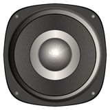 Giant speaker (simulated) Stock Photos