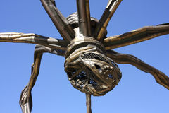 The giant spider. 'Mama', the artist Louise Bourgeois. the Guggenheim Museum, Bilbao, Euskadi, Spain. Basque Country Stock Photography