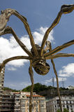 The giant spider, Bilbao, Spain. The giant spider 'Mama'. The Guggenheim Museum, Bilbao, Spain. Basque Country, Euskadi Royalty Free Stock Images