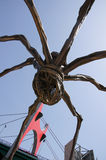 Giant spider at Guggenheim museum in Bilbao Stock Photography