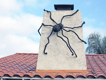 Giant Spider Royalty Free Stock Photo