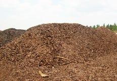Giant splinter mountain stock image