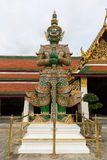 Giant stands in the Wat Phra Kaew, Bangkok, Thailand Stock Image