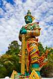 Giant Statue. Photo of Giant Statue in Temple of Thailand Stock Photos