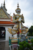 Giant Statue At Entrance Of Dawn Temple Royalty Free Stock Photos