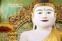 Giant statue of Buddha in Myanmar Stock Photo