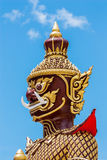 Giant statue in Buddhism Royalty Free Stock Image