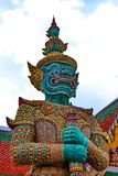 The Giant Statue in Grand Palace, Bangkok Thailand Royalty Free Stock Photo