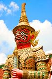 The Giant Statue in Grand Palace, Bangkok Thailand Stock Image