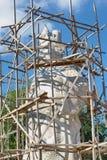 Giant statue of Guan yu Guan yu Samui Shrine Stock Photo