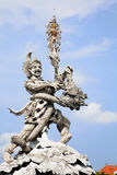Giant Statue at Kuta Roundabout, Bali, Indonesia Royalty Free Stock Photos
