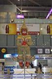 Giant statue. In suvarnabhumi airport thailand Royalty Free Stock Image