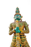 Giant statue in the temple, Generalily in Thailand, any kind of art decorated in Buddhist church. They are public domain or treas Stock Images