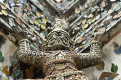Giant statue. In temple thailand Stock Photography