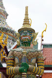 Giant statue of temple in Thailand. Giant statue of temple in Bangkok, Thailand Royalty Free Stock Image