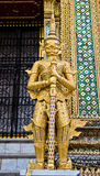 Giant statue in Thai style Royalty Free Stock Photo