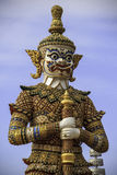 Giant statue in Thai style Stock Image