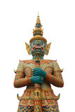 Giant Statue of Thailand. Stock Photo