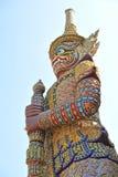 Giant Statue at Wat Phar kaew Stock Image