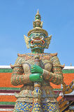 Giant Statue at Wat Phar kaew Royalty Free Stock Images