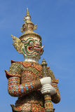 Giant statue, Wat Phra Kaew Stock Photos