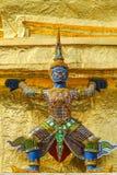 Giant statue at Wat Phra Si Rattana Satsadaram (Wat Phra Kaew), Stock Photography