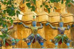Giant statue at Wat Phra Si Rattana Satsadaram (Wat Phra Kaew), Royalty Free Stock Images