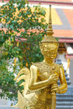Giant statue at Wat Phra Si Rattana Satsadaram (Wat Phra Kaew), Stock Photo