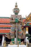 Giant statue at Wat pra kaew,Temple, The grand palace, Thai culture. Stock Photos