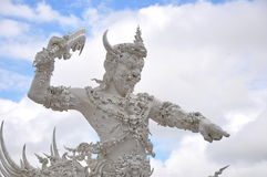 Giant statue in wat thai Stock Photos