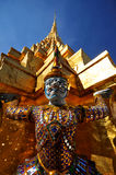 The Giant statues at Grand Palace or Temple of the Emerald Buddha. Royalty Free Stock Photos