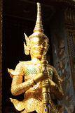 Giant statues in Thailand  Wat pha Kaew temple Stock Images