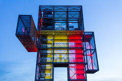 A giant steel construction. Royalty Free Stock Photography