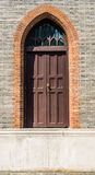 Giant step door in church shanghai china Stock Photos