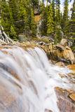 Giant Steps Waterfalls in Banff National Park Royalty Free Stock Image