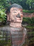 Giant Stone Buddha Royalty Free Stock Photography