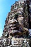 Ancient Bayon temple in Angkor Thom, Siem Reap, Cambodia Royalty Free Stock Image