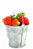 Giant strawberries Royalty Free Stock Photo