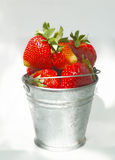 Giant strawberries Stock Photo
