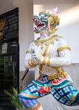 Giant stucco work in Chinese style,Bangkok, Thailand Royalty Free Stock Photography
