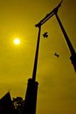 Giant Swing. Near Wat Suthat Thepphawararam in Bangkok, Thailand Stock Image