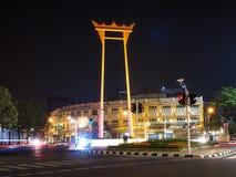 Giant Swing in bangkok thailand.  Royalty Free Stock Image