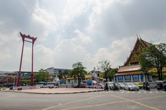 Giant Swing of Bangkok Stock Photography