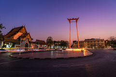 The Giant Swing in Bangkok, Thailand Stock Image