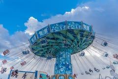 Giant swing at Fuji-Q Highland theam park,Japan Royalty Free Stock Photos