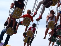 Giant Swing Ride At Edmonton Albesrta K-Days 2013 Stock Images