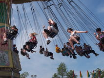 Giant Swing Ride At Edmonton Albesrta K-Days 2013 Royalty Free Stock Photo