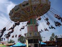 Giant Swing Ride At Edmonton Albesrta K-Days 2013 Royalty Free Stock Photography