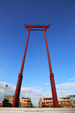 The giant swing (Sao Ching Cha) in Bangkok, Thailand Royalty Free Stock Photos