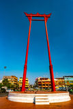 The giant swing, Sao Ching Cha, in Bangkok Royalty Free Stock Photo